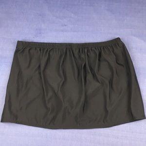 Delta Burke Black Swim Skirt Size 20W